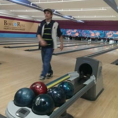 Photo taken at Bowl-A-Roll Lanes by Andrew B. on 3/11/2014