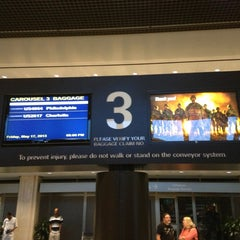 Photo taken at Baggage Claim by Brian S. on 5/18/2013