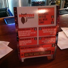 Photo taken at Hooters by Kaitlyn S. on 10/2/2013