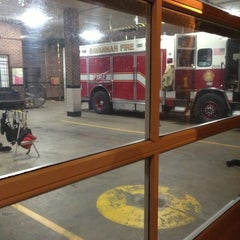 Photo taken at Firehouse #3 - Savannah Fire Department by Ashcon L. on 10/20/2012