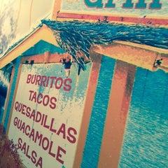 Photo taken at Burrito Beach by Mark C. on 1/20/2015