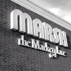 Photo taken at Marsh Supermarket by Mark C. on 12/21/2014