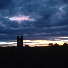 Photo taken at Broadway Tower by Paul E. on 8/11/2013