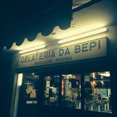 Photo taken at Gelateria da Bepi by Elena S. on 4/24/2014