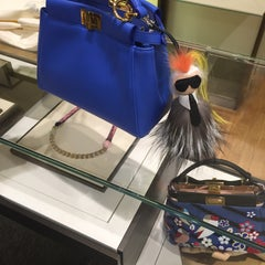 Photo taken at Fendi by Dina A. on 4/8/2015