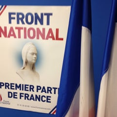 Photo taken at Front National by Frédéric G. on 5/27/2014