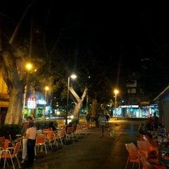 Photo taken at Ramblas de Santa Cruz by Nestor M. on 10/21/2012