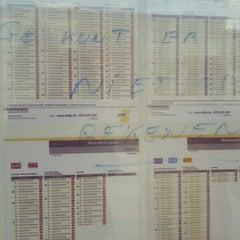 Photo taken at Tram/bushalte Ringlaan by Jolien A. on 10/10/2012