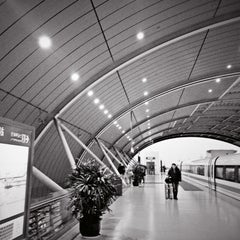 Photo taken at 磁悬浮龙阳路站 Maglev Train Longyang Road Station by Anson L. on 2/8/2013