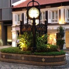 Photo taken at Albert Court Village Hotel by Sue S. on 6/1/2013