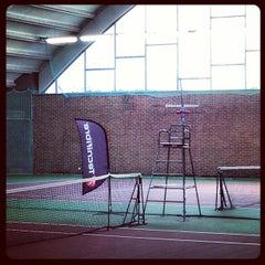 Photo taken at Kronprinsens Tennishall & Tenniscenter by Mike C. on 5/4/2013