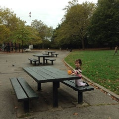 Photo taken at J J Carty Playground by Rosemary H. on 10/10/2013