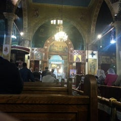 Photo taken at St. Mark's Church | كنيسة مارمرقس by Marc W. on 12/5/2012