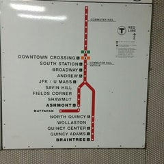 Photo taken at MBTA Red Line by Marcus on 1/16/2016