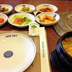 Photo taken at Auntie Kim's Korean Restaurant by JK on 9/26/2013