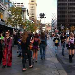 Photo taken at 16th Street Mall by Hamad A. on 10/20/2012