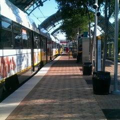 Photo taken at Parker Road Station (DART Rail) by Elle C. on 5/7/2013