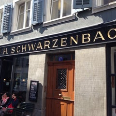 Photo taken at Teecafé Schwarzenbach by Xugang Z. on 8/26/2013