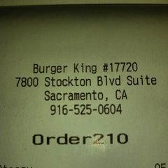 Photo taken at Burger King® by Abraham L. on 5/14/2014