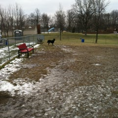 Photo taken at Medina Dog Park by Jennifer on 2/23/2013