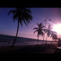 Photo taken at Praia de Itapuã by Pilar V. on 11/27/2012