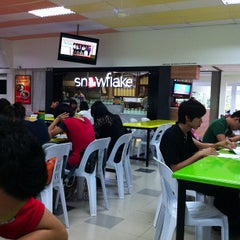 Photo taken at The Red Bricks Cafeteria (formerly Canteen 1) by Corrine O. on 1/10/2013