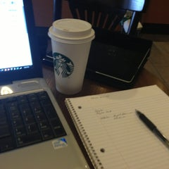 Photo taken at Starbucks by Angelo R. on 3/2/2013