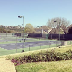 Photo taken at Courtyard Tennis Center by Lizzy L. on 3/17/2013
