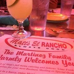 Photo taken at Matt's Famous El Rancho by Ashley S. on 12/17/2012