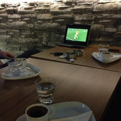 Photo taken at Kalyon Café by Murat A. on 4/2/2013