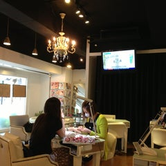 Photo taken at nail therapy by Ivy T. on 7/14/2013