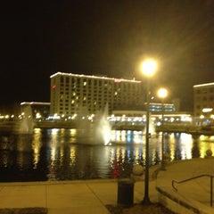 Photo taken at Newport News Marriott at City Center by Alinda F. on 12/11/2012