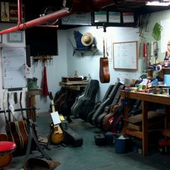 Photo taken at Whitsett Guitar Works by Billy H. on 1/9/2013