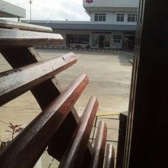 Photo taken at Chevron Hangar by สมชาย ม. on 12/20/2013
