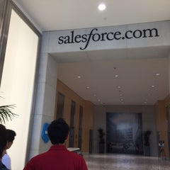 Photo taken at Salesforce by Tatsuya I. on 8/18/2015