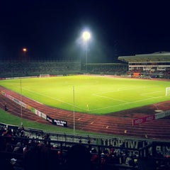 Photo taken at Stadium Negeri by Adam Smith I. on 3/8/2013