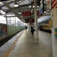 Photo taken at 西武新宿駅 (Seibu-Shinjuku Sta.) (SS01) by taeko. u. on 2/21/2013