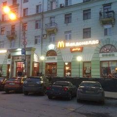 Photo taken at McDonald's by Виктор К. on 10/23/2012