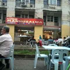 Photo taken at Restoran Mannusalwa by زيد ز. on 11/1/2012
