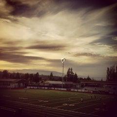 Photo taken at Sunset Stadium by Kari S. on 5/15/2013