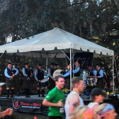 Photo taken at Rock n Roll Savannah Marathon Finish by Andy R. on 11/3/2012