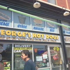 Photo taken at George's Hot Dogs by Mecaela M. on 8/30/2013
