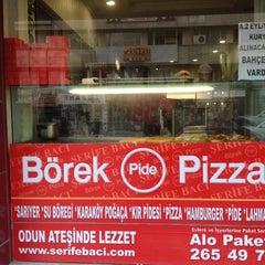 Photo taken at Şerife Bacı Pide ve Börek by TRKN S. on 12/15/2012