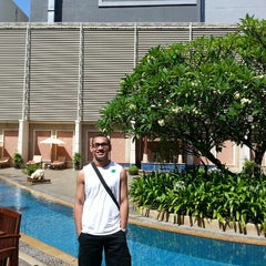 Photo taken at The Bayview Hotel Pattaya by Adrian M. on 6/1/2013