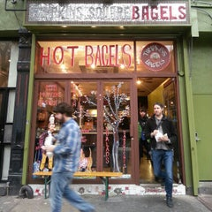 Photo taken at Tompkins Square Bagels by Fabrice G. on 1/13/2013