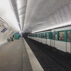 Photo taken at Métro Réaumur—Sébastopol [3,4] by Florian G. on 7/29/2015