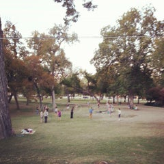 Photo taken at Trinity River Park by Ally F. on 11/4/2012