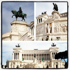 Photo taken at Altare della Patria by Rashed A. on 6/6/2012