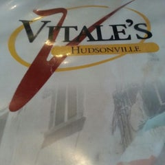 Photo taken at Vitale's Pizzeria & Lounge by Rey Y. on 7/21/2012