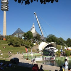 Photo taken at Olympiapark by Jens D. on 8/13/2012
